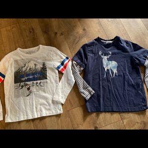 Crewcuts & Mini Boden shirts Sz 10